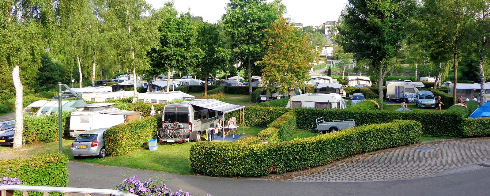 A modern campsite in the heart of the natural parks of the Luxembourg Ardennes